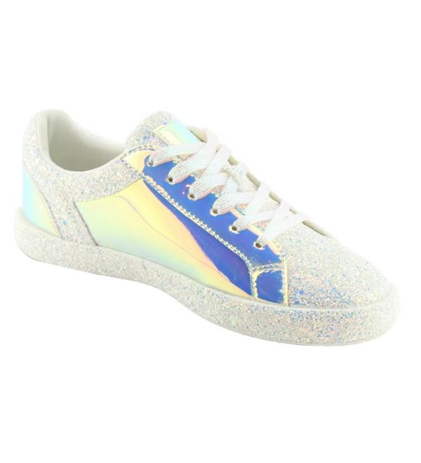 Sneaker Fashion Glitter Metallic Sparkle