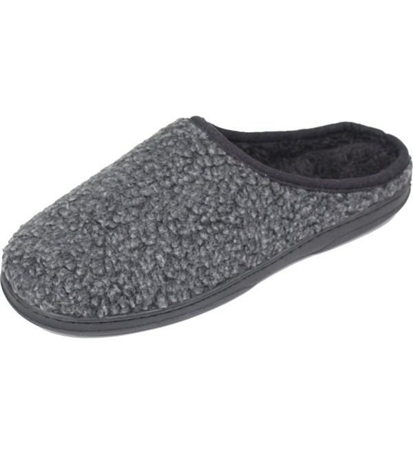 LUXEHOME Mens Scuffs Slipper 10 11