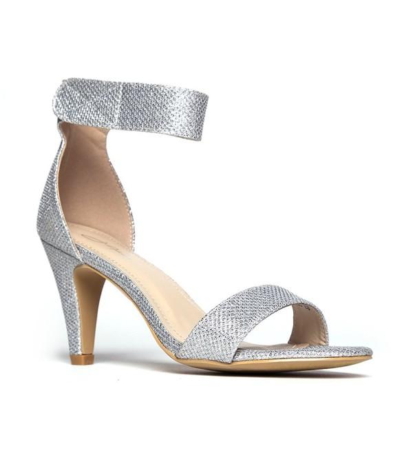 J Adams Ankle Silver Glitter