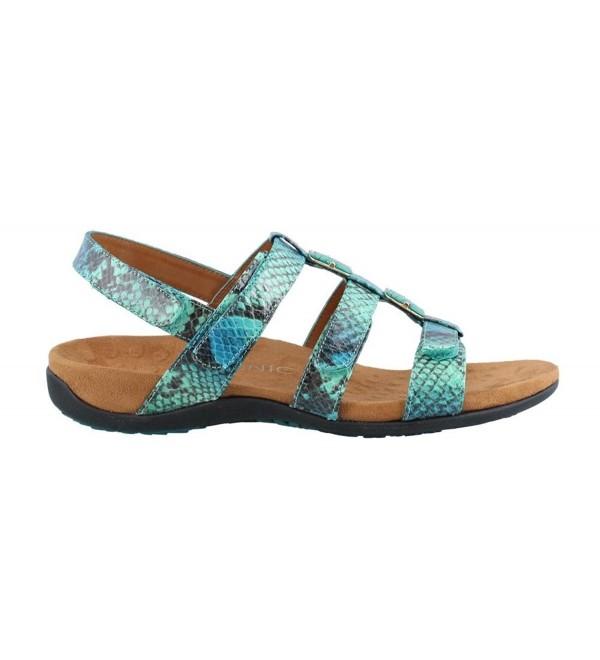 Vionic Womens Amber Snake Sandal