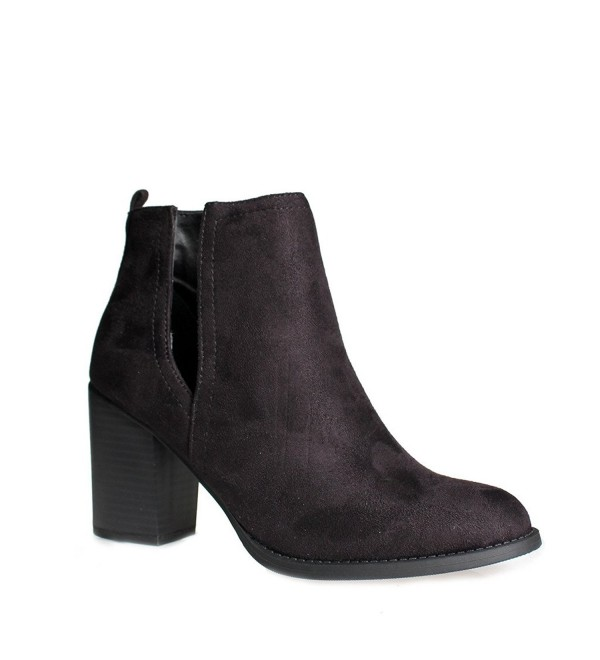 Womens ZN68 Stacked Chunky Heel