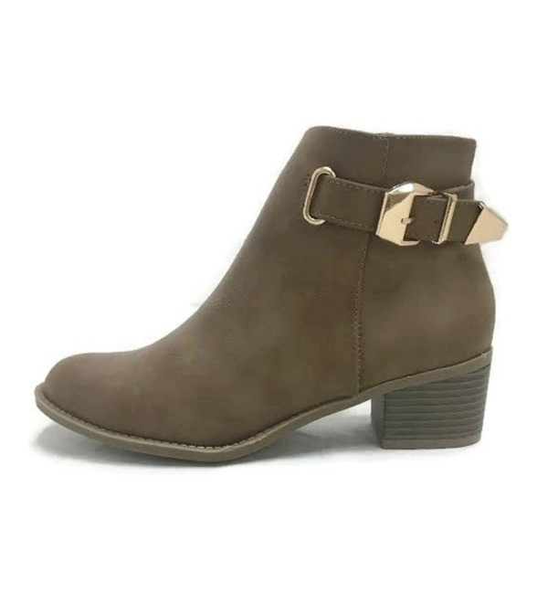 Top Moda Canopy 1 Stacked Booties