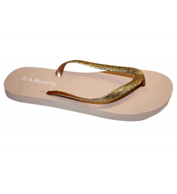 Glitter Comportable Footbed Looking Style Light_Brown_10