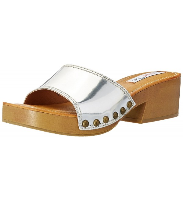 Lips Too Womens Sandal Silver