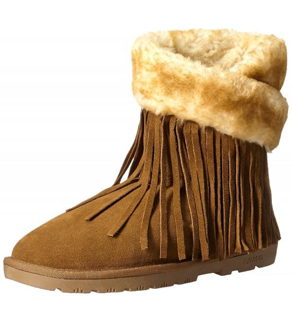 Lamo Womens Fringe Wrap Boot