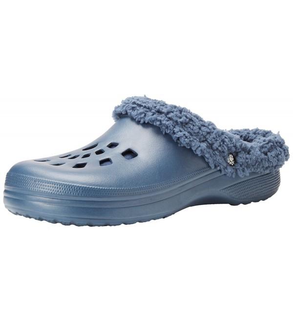 DAWGS Mens Fleece Outdoor Slippers