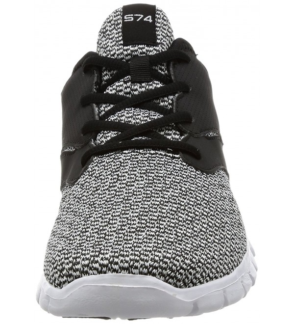 TF X574 BLK_Men Tesla Pattern Sports Running