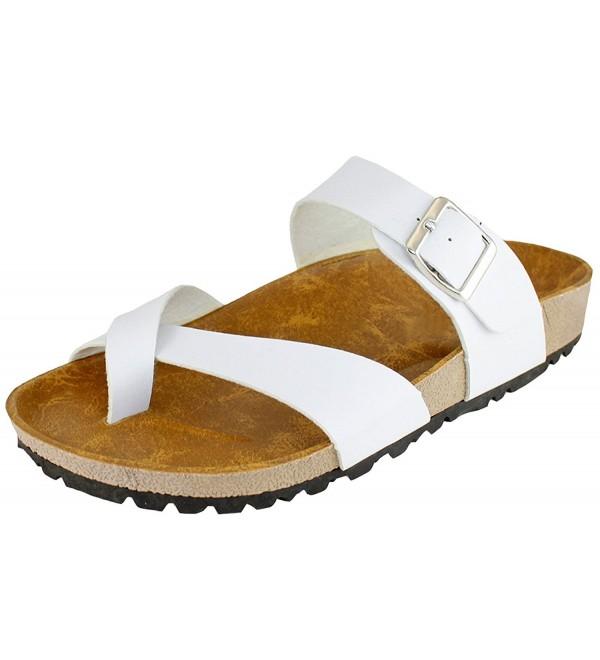 Cambridge Select Womens Slide Sandal