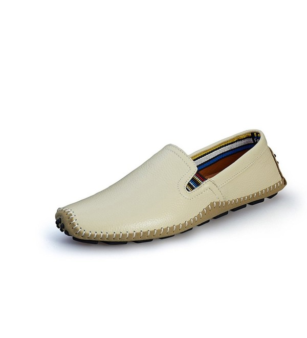 BIFINI Cowhide Casual Driving Moccasins