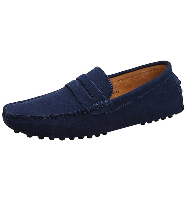 Rismart Minimalism Driving Moccasin Slippers