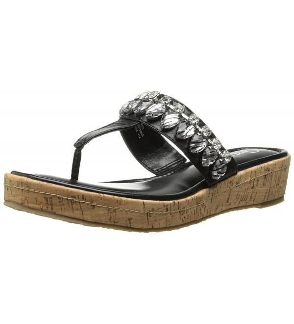 Grazie Womens Cayman Wedge Sandal