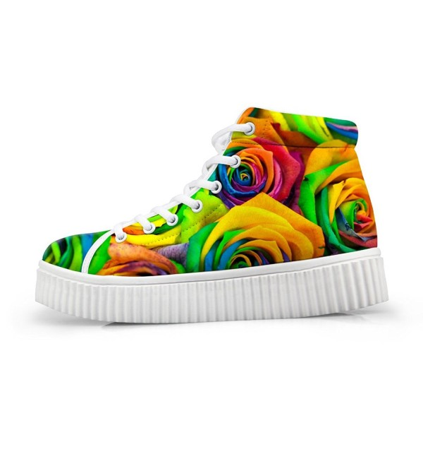 HUGS IDEA Fashion colorful Sneakers