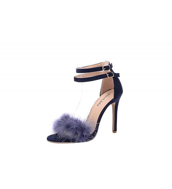 Mila Lady EILEEN18 Feather Stiletto