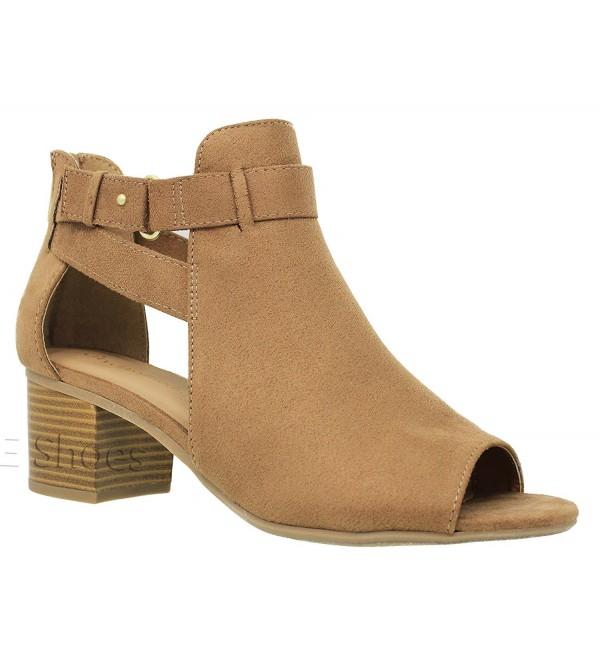 MVE Shoes Womens Chunky Zipper