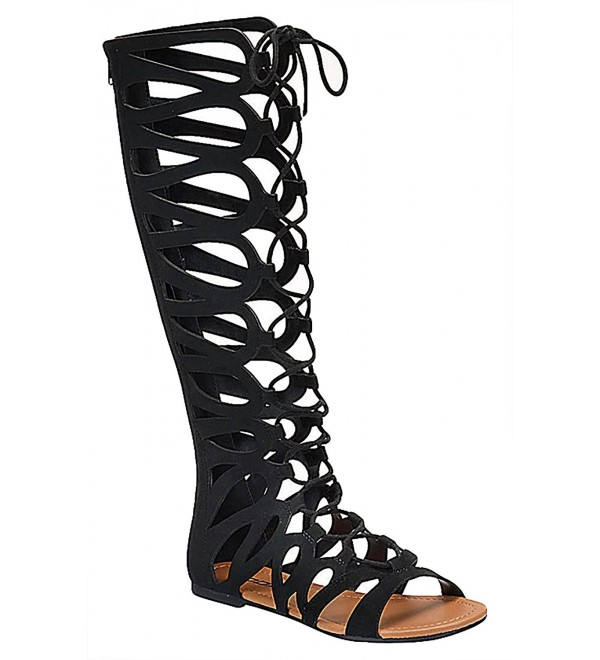Soda Womens Strappy Gladiator Beyonce