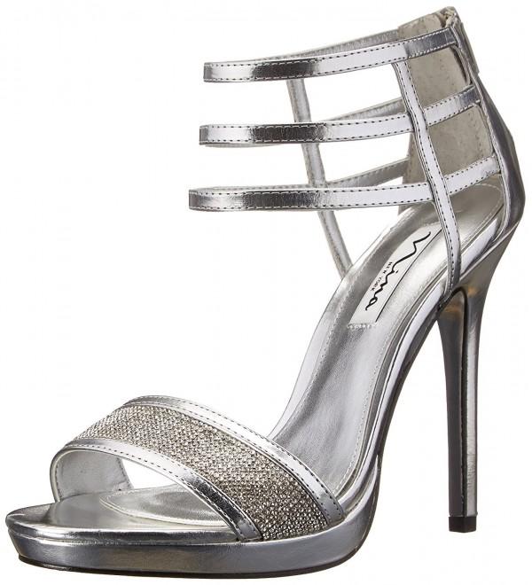 Nina Womens Fable YY Sandal Silver