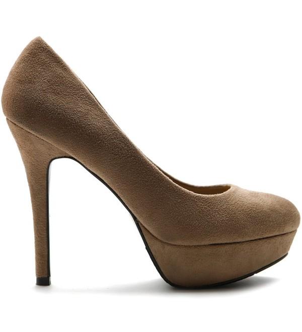 Ollio Womens Stiletto Platform ZM12007