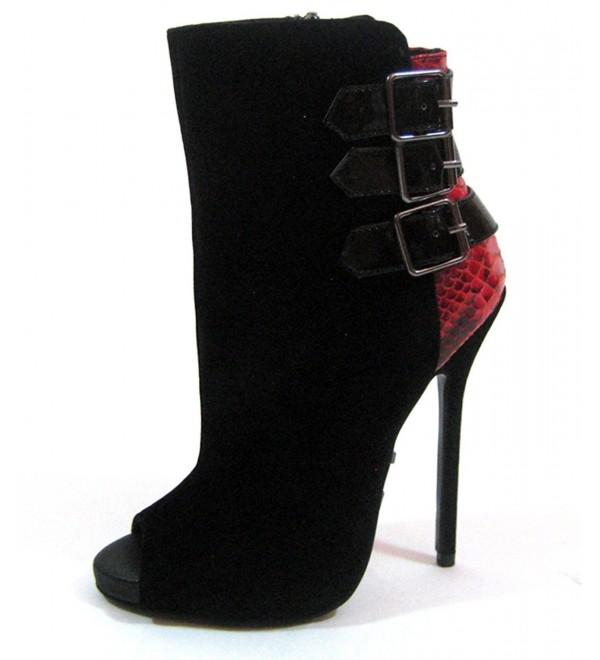 Highest Heel Womens Sultry 11 Bootie