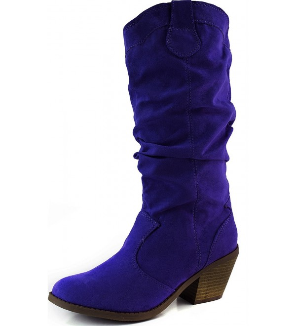 Qupid Womens Muse Western Boot