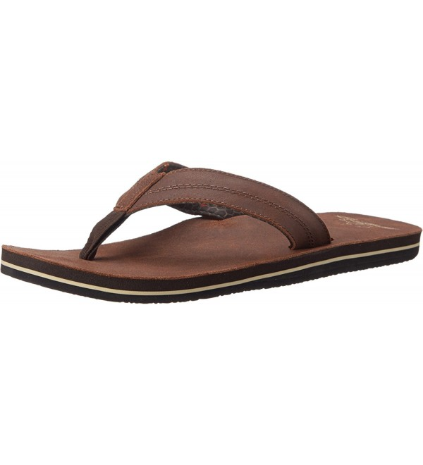 Freewaters CI Leather Sandal Footwear Brown