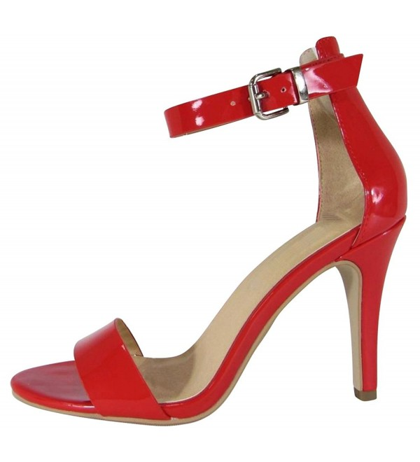 Cambridge Select Womens Strappy Stiletto