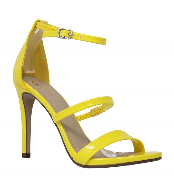 MVE Shoes Womens Strappy Stiletto