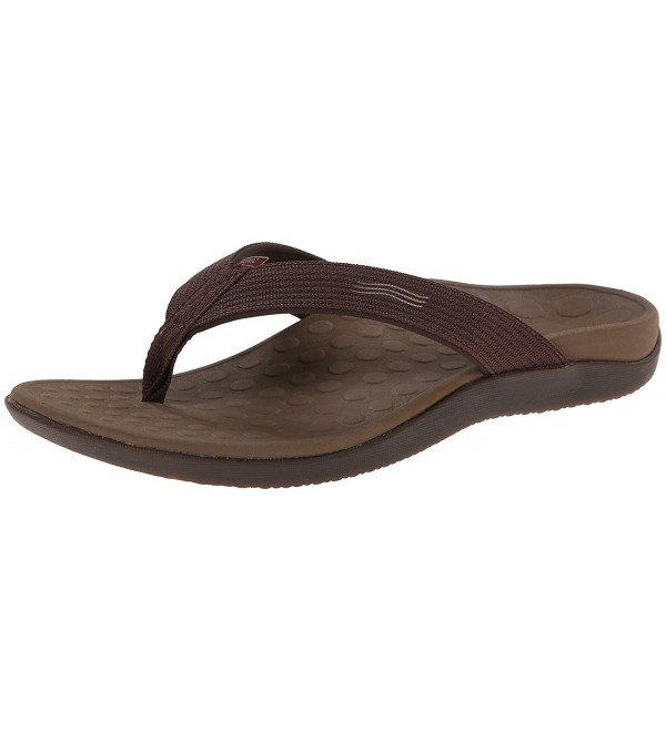 Vionic Unisex Sandal Women Chocolate