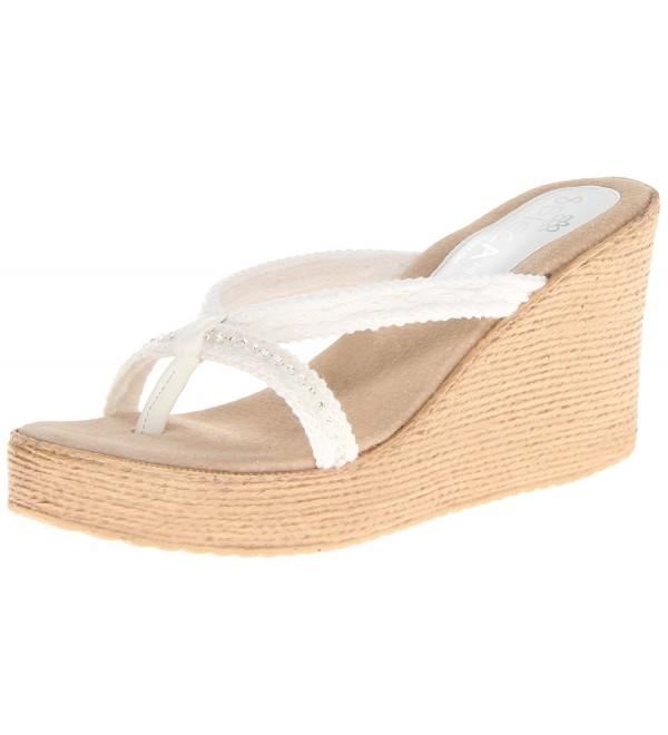 Sbicca Womens Jewel Wedge Sandal