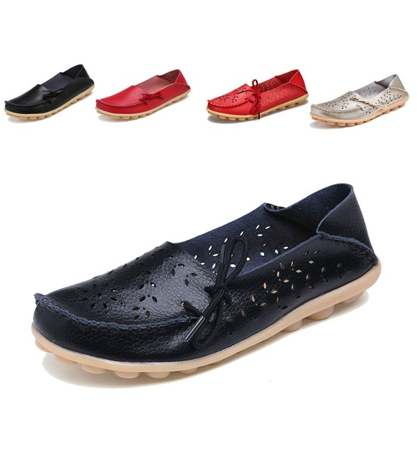 Sakuracan Loafers Driving Outdoor Leather
