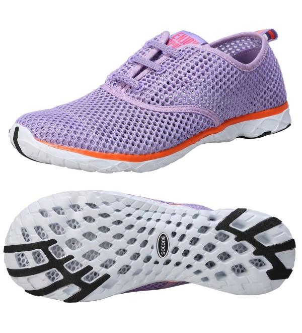 Zhuanglin Womens Water Shoes Purple