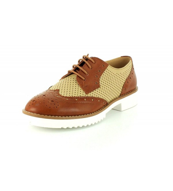 Wanted Womens NAPOLI Natural Oxford