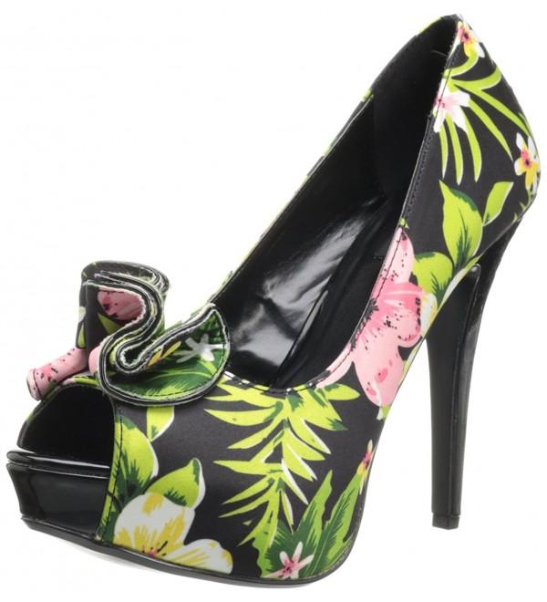 Pleaser Womens Lolita 11 Platform Floral