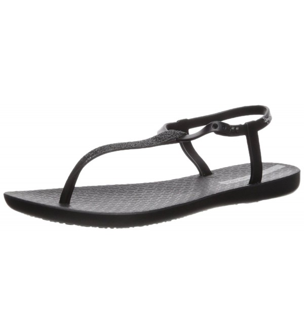 Ipanema Womens Shimmer Sandal Black