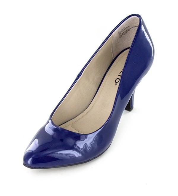 Rialto Maelie Womens Royal Patent