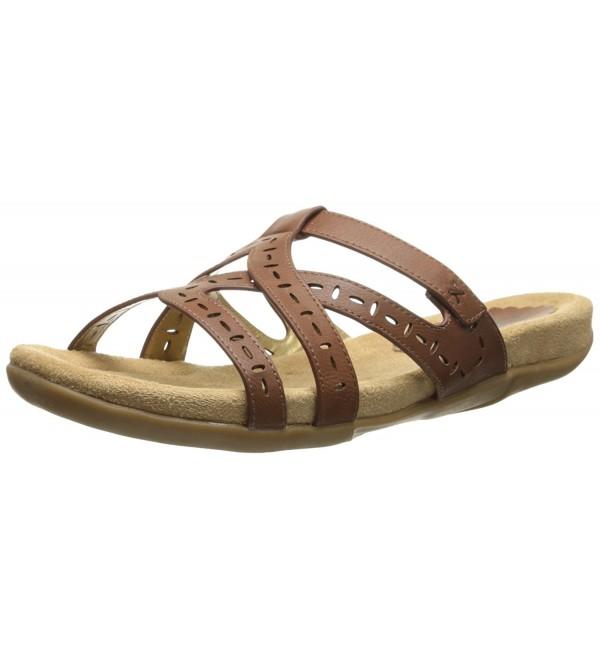 Annie Womens Swank Sandal Luggage