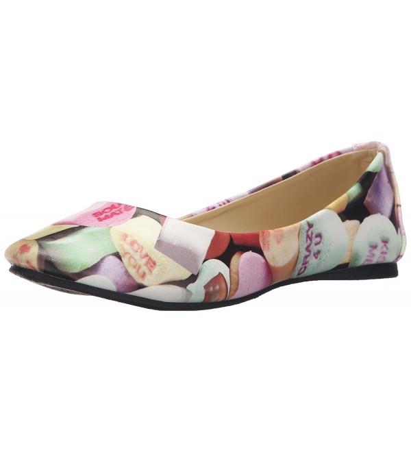 T U K Womens Candy Ballet Flat