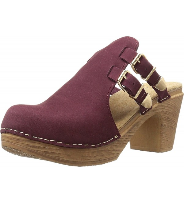 Calou Stockholm Womens Katty Burgundy