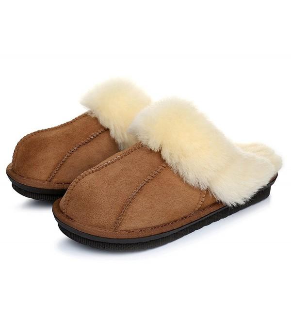 Warmie Australian Sheepskin Slippers Chestnut