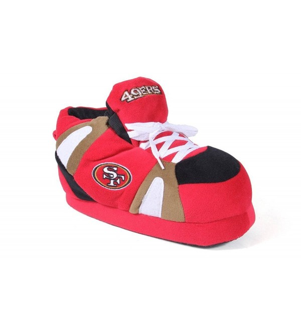 SFR01 5 Francisco 49ers Happy Slippers