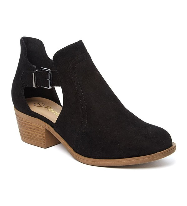 Reneeze AH65 Womens Cut Out Booties