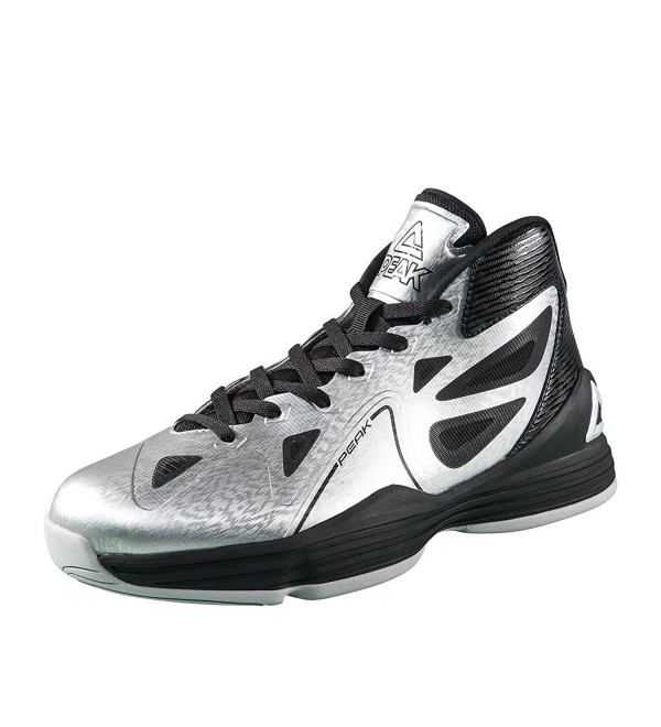 Peak Galaxy Basketball Shoes Silver