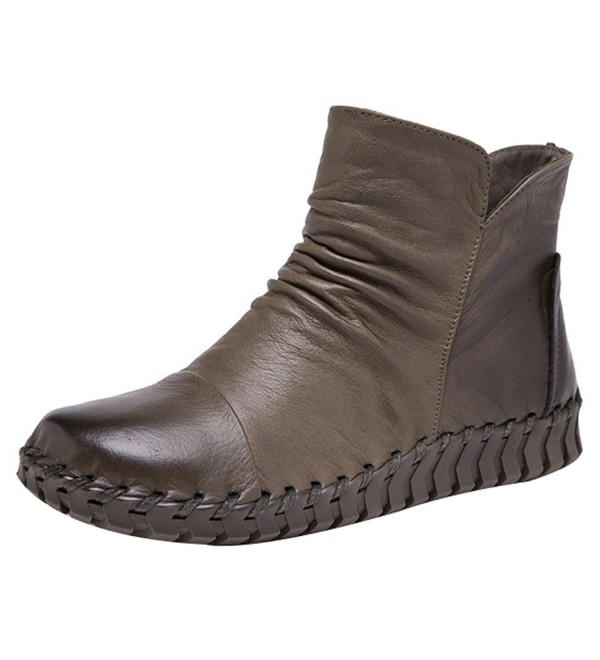 Mordenmiss Womens Winter Boots Style 2 40 Khaki