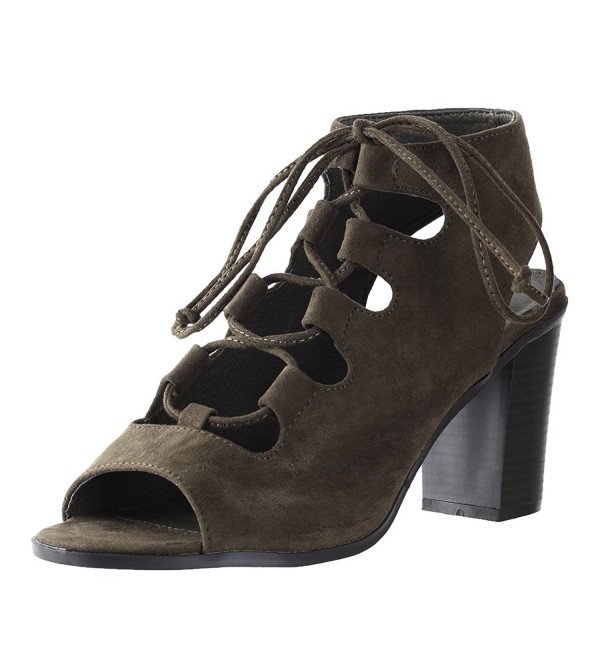 Bella Marie Womens Synthetic Suede