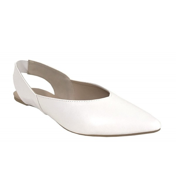 Qupid ZOOM 01 Pointed Slingback Leatherette