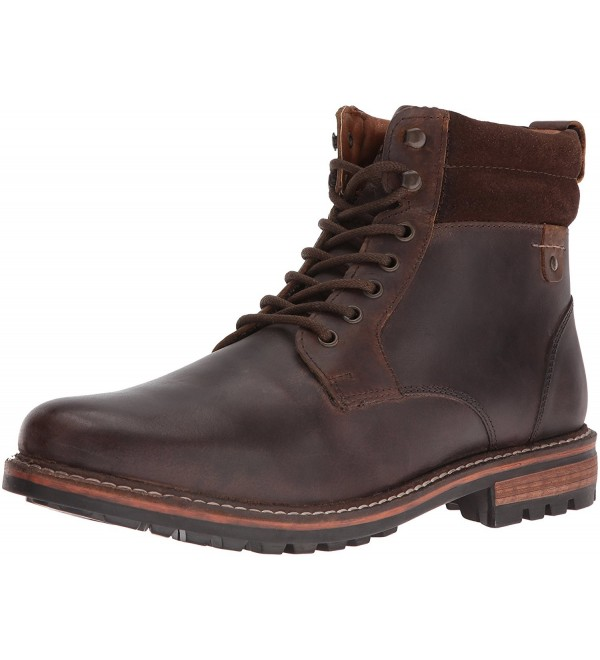 Crevo Mens Pitney Brown Leather