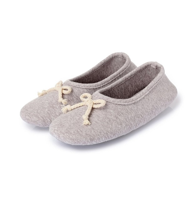L RUN Womens Washable Memory Slippers