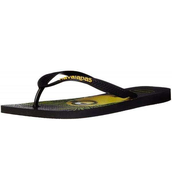 Havaianas Mens Minions Sandal Black