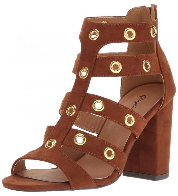 Qupid Womens Chester 19 Gladiator Sandal
