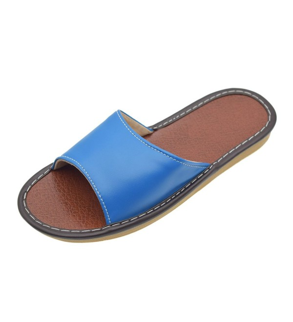 Maylian Casual Womens Leather Slippers