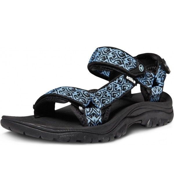 AT W111 KBL_Women Atika Womens Outdoor Sandals